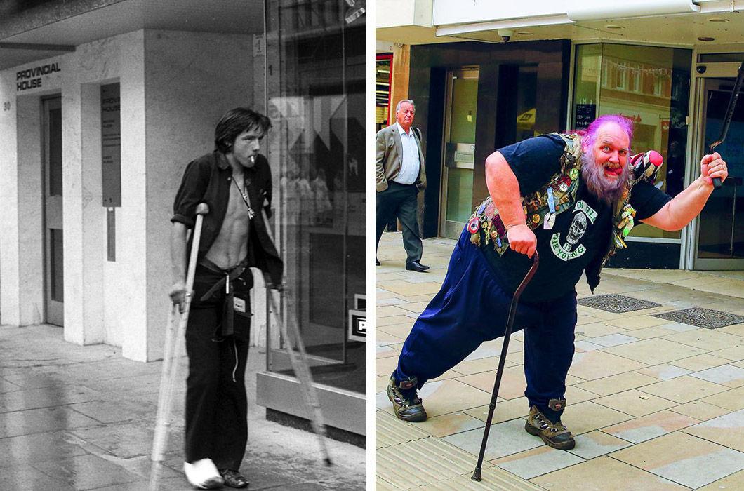 Фотограф снимает жителей английского городка много лет спустя фото