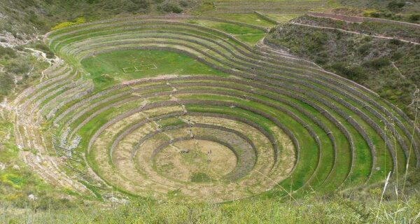 Мистические земледельческие террасы инковМорай