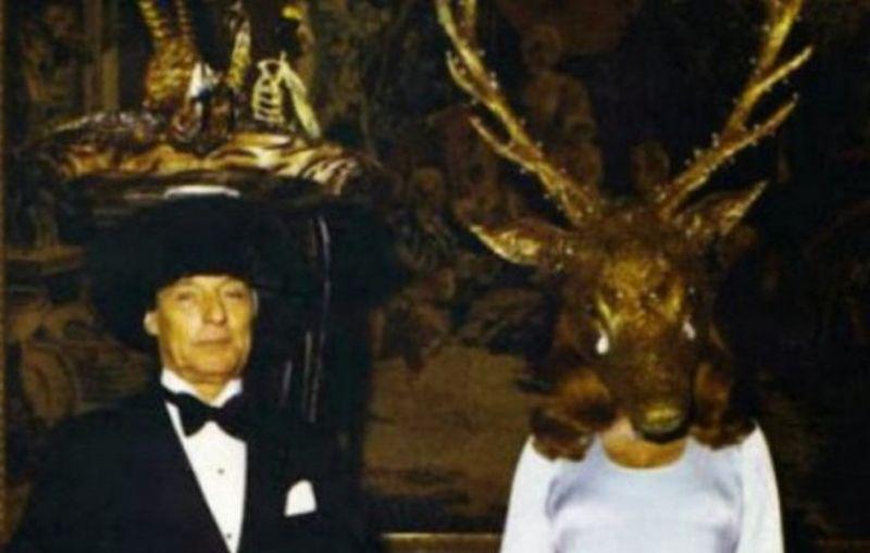 20 фото с тайной масонской вечеринки 1972 года, от которых мурашки по коже фото