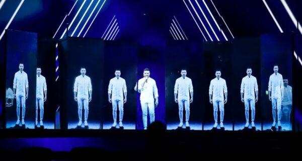 Исполненное драматизма выступление Сергея Лазарева на Евровидении разобрали намемы