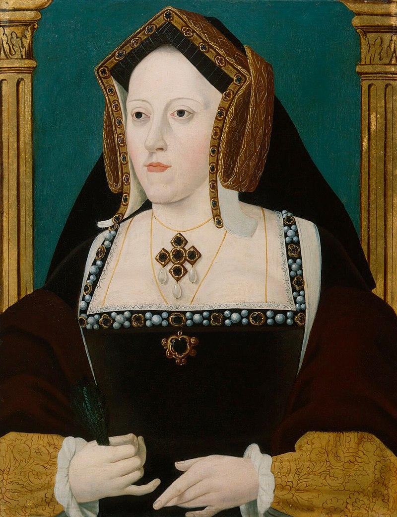 800px Catalina de Aragón por un artista anónimo - История «Кровавой Мэри» — первой королевы Англии Марии Тюдор