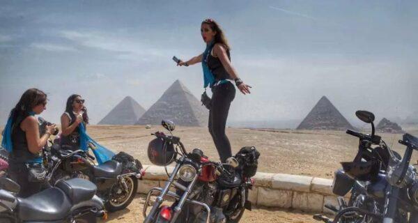 Женщины Ближнего Востока на байках в проекте французского фоторепортера Жиля Бадера