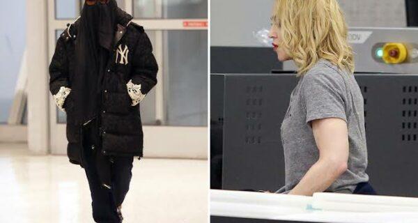 Гюльчатай, открой личико! Мадонну заставили снять паранджу в аэропорту