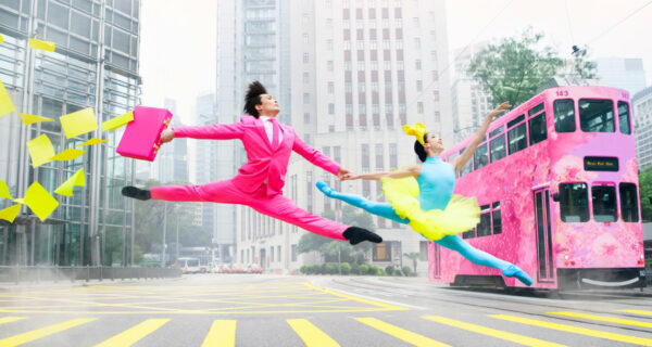 Яркий и дерзкий Гонконгский балет станцевал в честь своего 40-летия