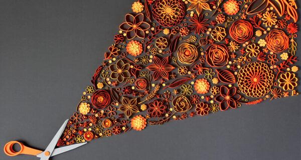 Искусство аппликации: потрясающие бумажные цветы от творческого дуэта JUDiTH +ROLFE