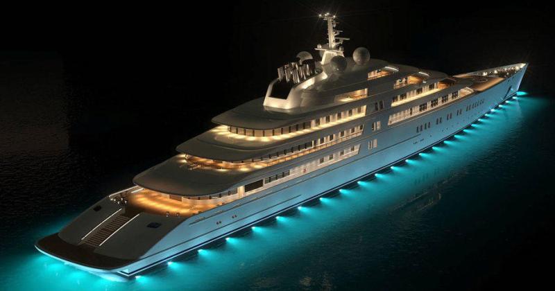 20 яхт российских миллиардеров, которые стоят дороже, чем ВМФ России фото