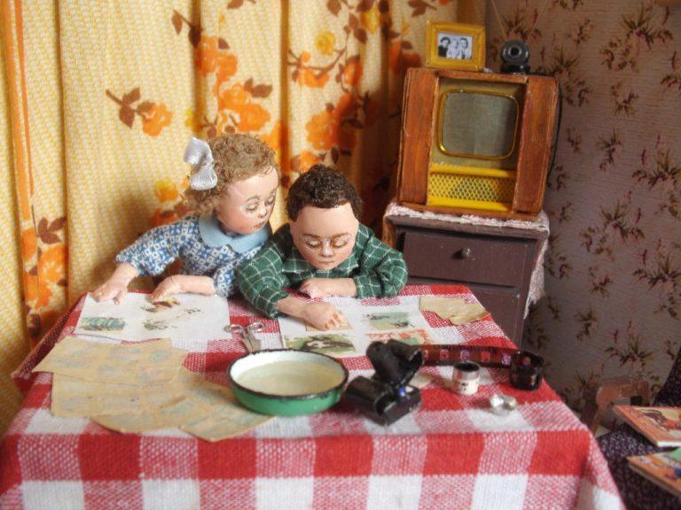 Touching Miniature Compositions From Irina Verkhogradskaya
