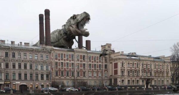 Другой Питер: художник населил город необычными обитателями