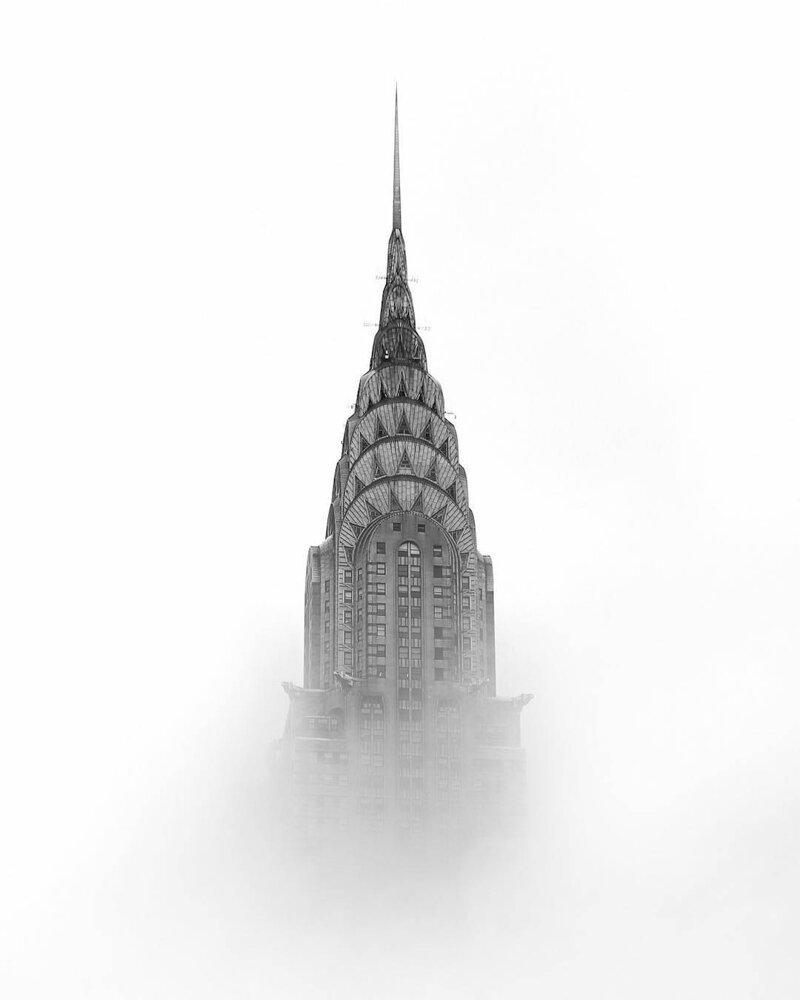 Атмосферные снимки улиц Нью-Йорка. Фото