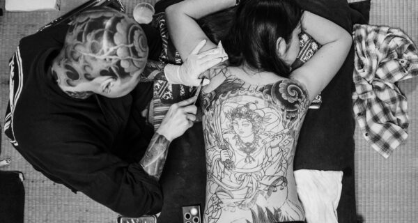 Любимица преступного клана Якудза: путь к мечте японского мастера тату Хожижень