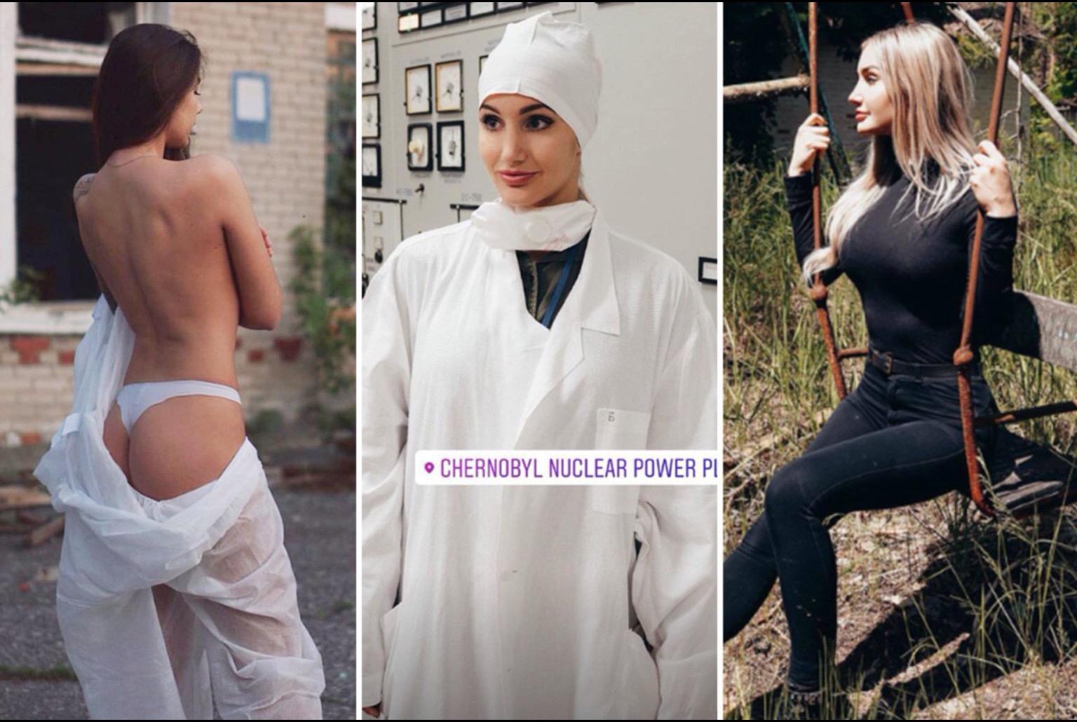 Инстаграм-модели делают откровенные фото в Чернобыльской зоне и многих это возмущает фото