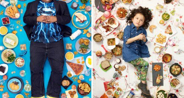 Хлеб наш насущный: Удивительный фотопроект Грегга Сегала о рационах детей разных народов