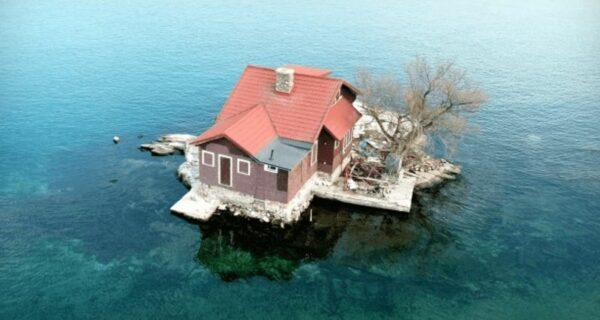 Остров для одного дома попал в книгу Гинесса