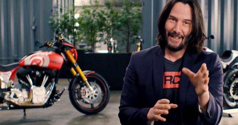 Киану и счастливая история его любви… к мотоциклам