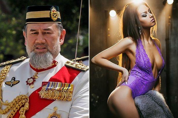 Малайзийский монарх расстался с женой-россиянкой из-за интима в бассейне фото