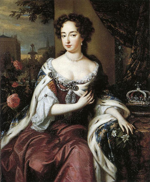 640px Mary II after William Wissing - К черту этикет! Королевы, которые умели зажигать по полной