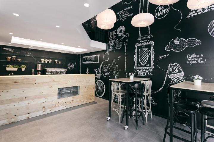 фишка в интерьере кофейни - стильный дизайн