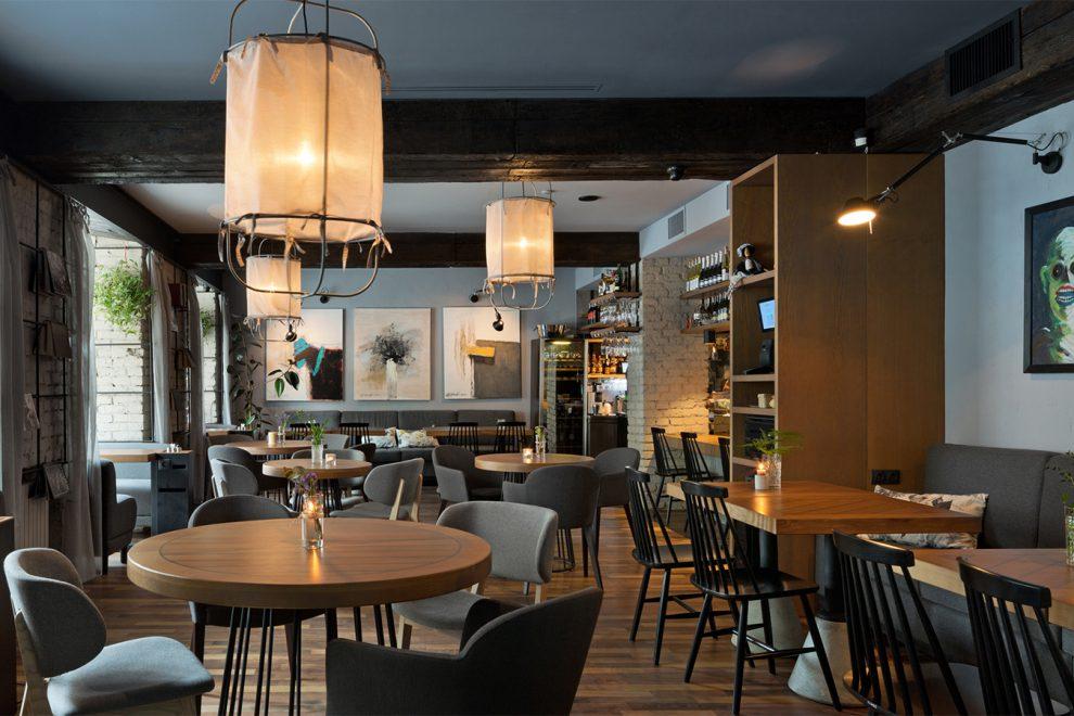 фишки интерьера кофейни - качественная мебель