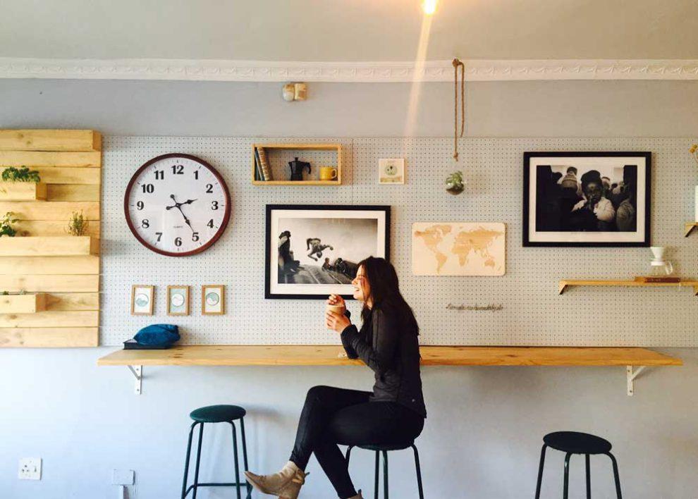 фишки в интерьере кофейни
