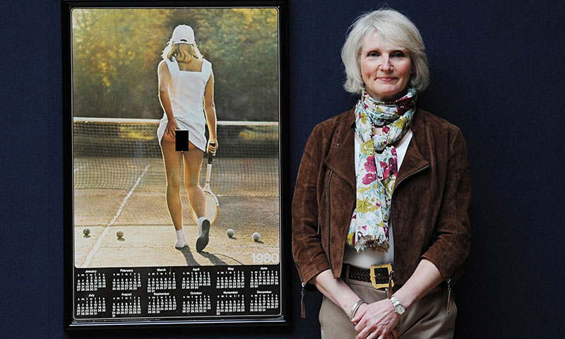 Попа, ставшая легендой: история создания знаменитой фотографии «Теннисистка» фото