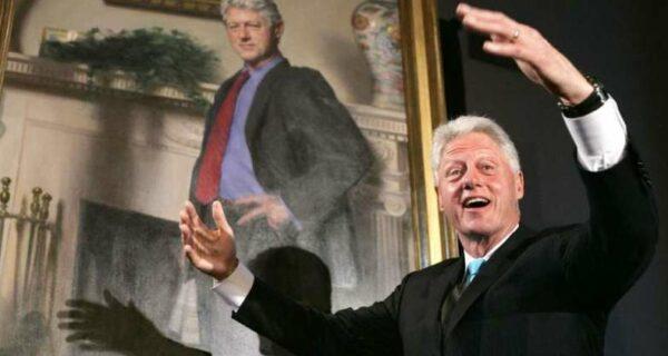 Миллиардер-педофил Джеффри Эпштейн хранил дома пикантный портрет Клинтона