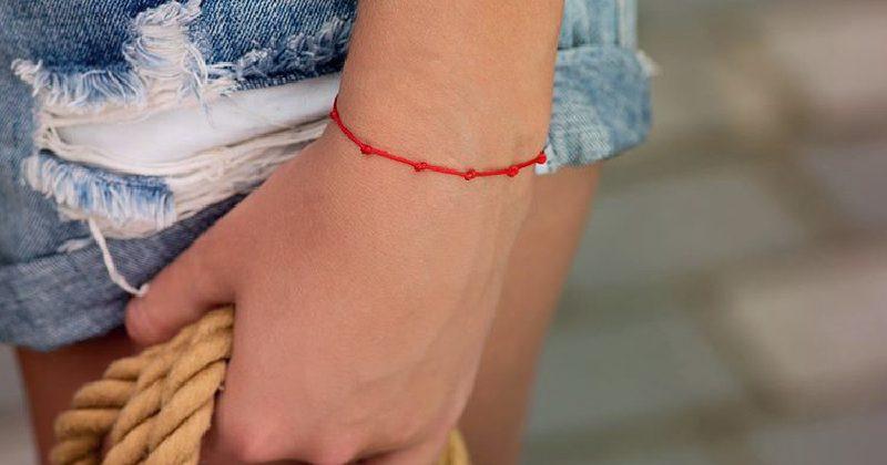 Семь узелков на красной нити