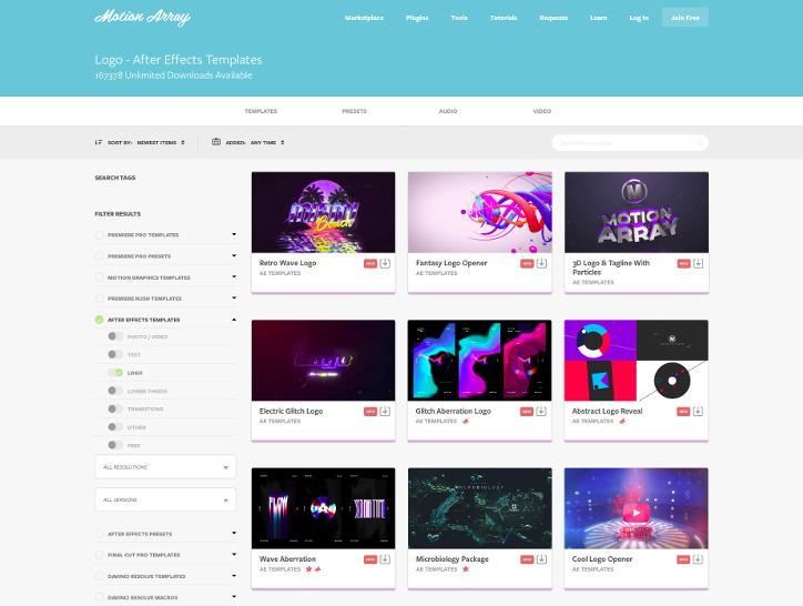 Motion Array: motionarray.com