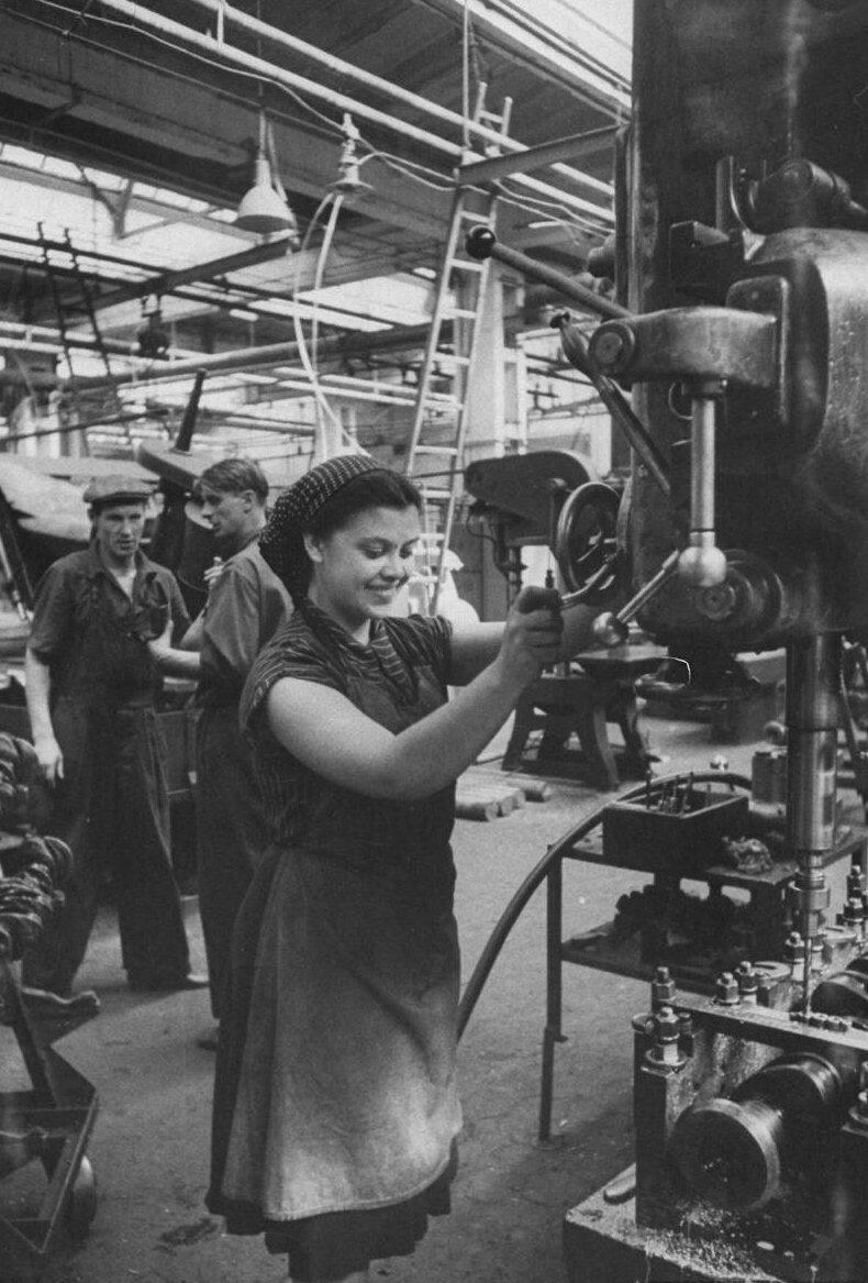 LisaLarsen02 - Простые москвички 1950-х глазами американки