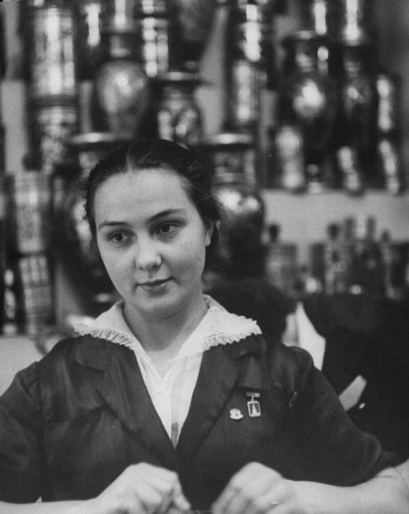 LisaLarsen13 - Простые москвички 1950-х глазами американки