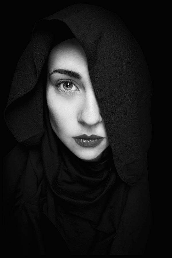 blackandwhite04 - 35 потрясающих черно-белых портретов