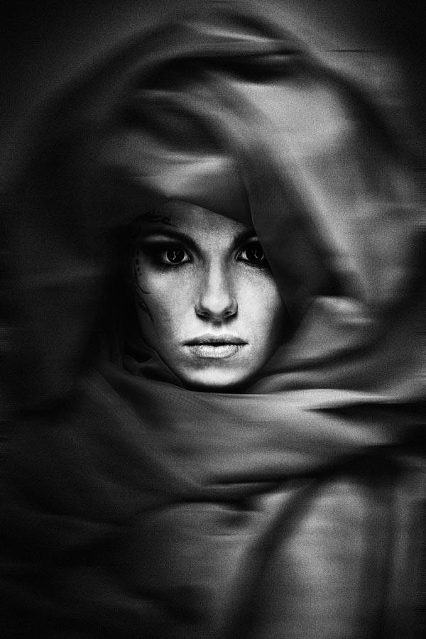 blackandwhite13 - 35 потрясающих черно-белых портретов