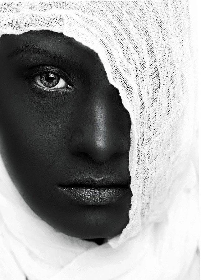 blackandwhite15 - 35 потрясающих черно-белых портретов
