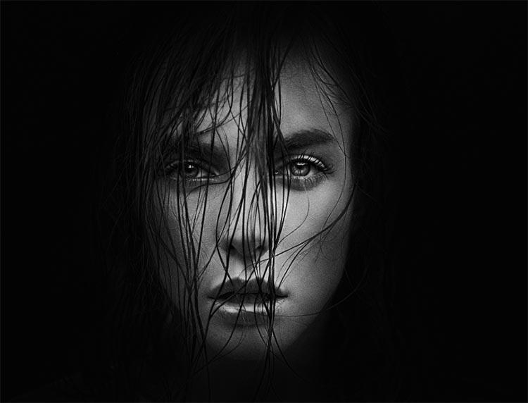blackandwhite21 - 35 потрясающих черно-белых портретов