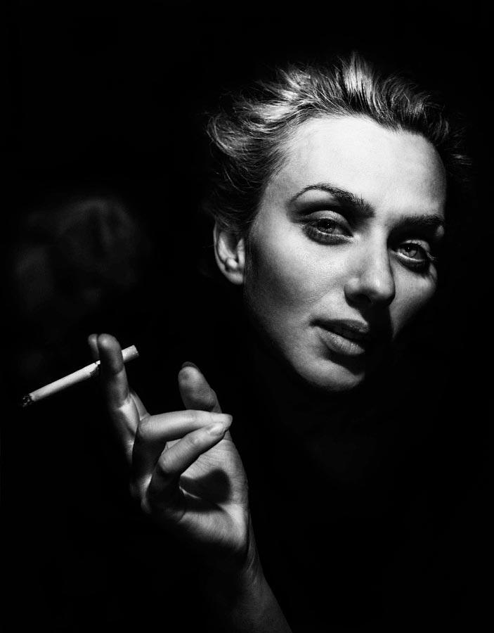 blackandwhite30 - 35 потрясающих черно-белых портретов