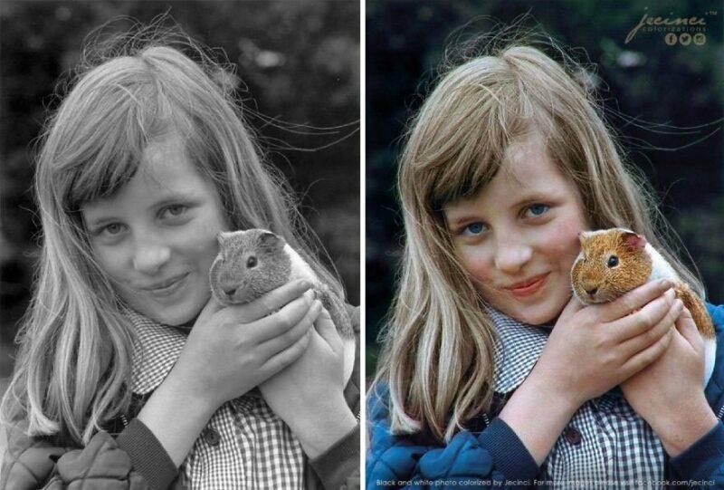 Оживляя воспоминания: колоризированные знаменитые черно-белые фото
