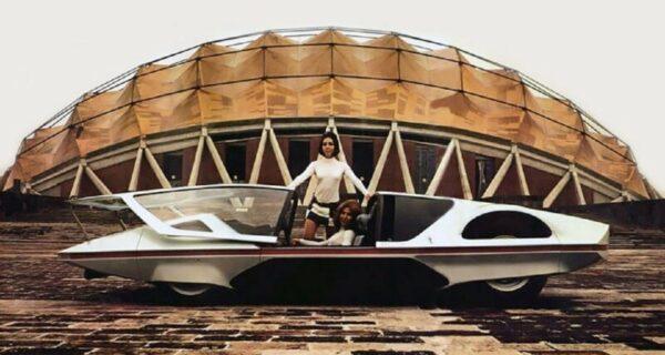 Элегантность ретрофутуризма: итальянский автомобиль будущего в1970