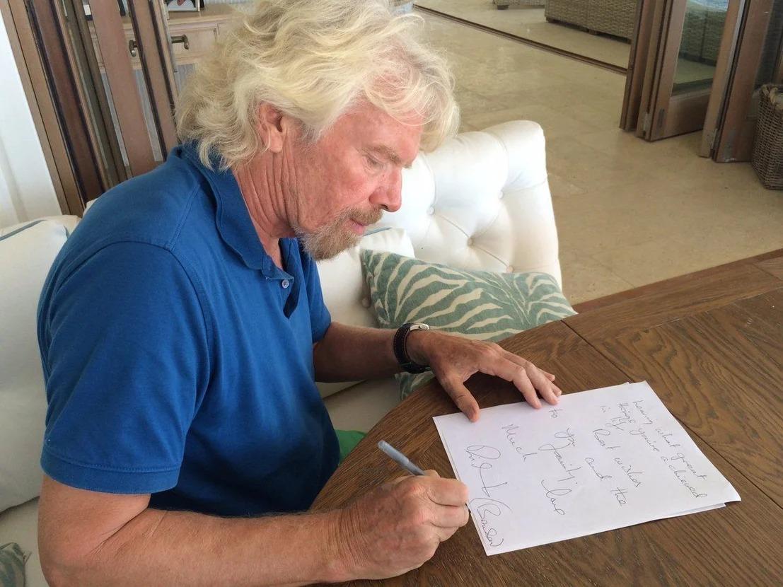 Человечность во всем: 10 вещей, которые делает Ричард Брэнсон, чтобы всегда быть успешным