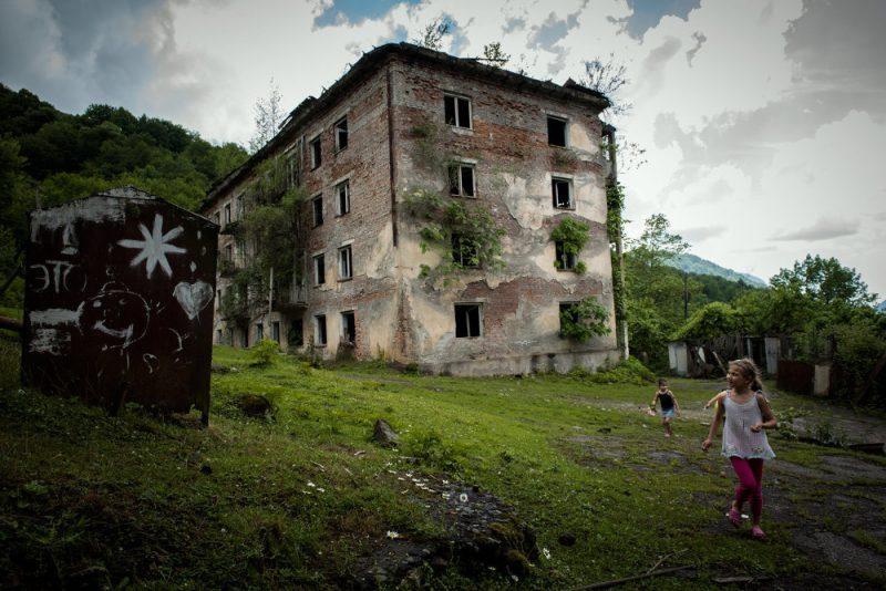 Акармара поселок-призрак