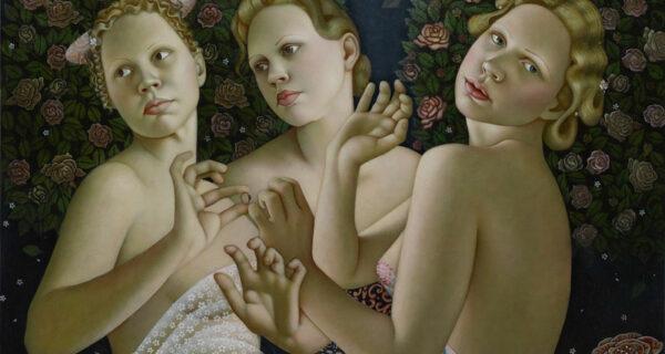 Красота женского тела и тонкие материи в картинах АгитыКейри