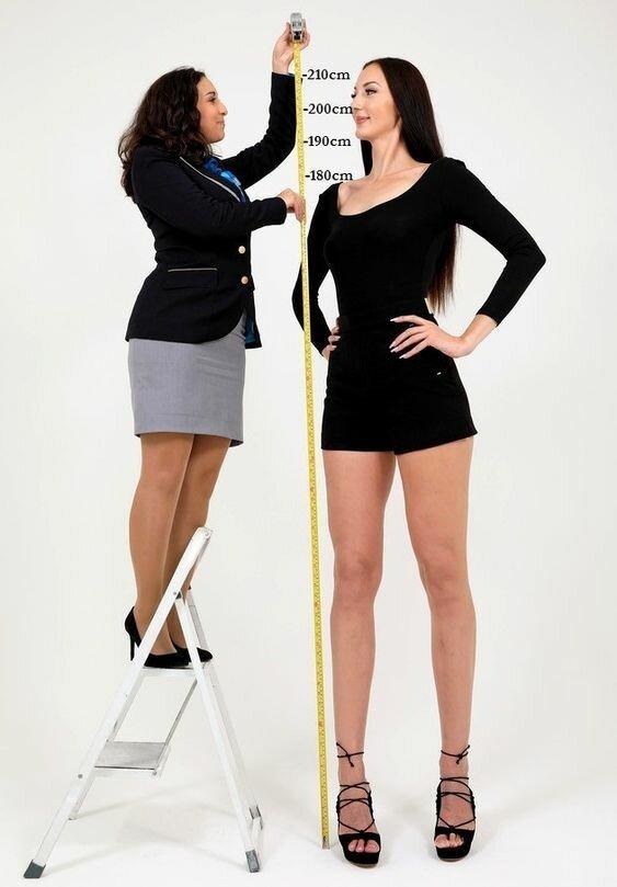 20 девушек, которые поражают своим высоким ростом