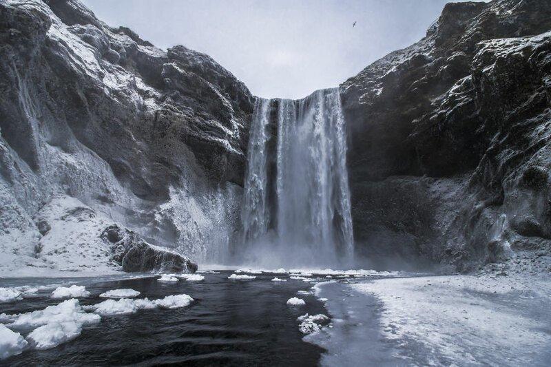 снимки из Исландии