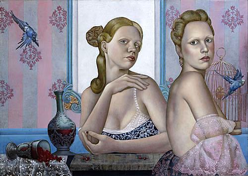 Красота женского тела в картинах Агиты Кейри