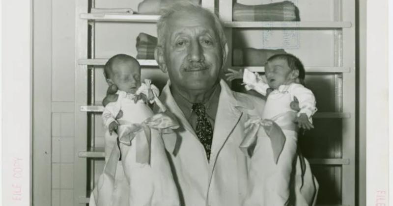 История доктора-самозванца Мартина Коуни, спасшего тысячи младенцев от неминуемой смерти фото