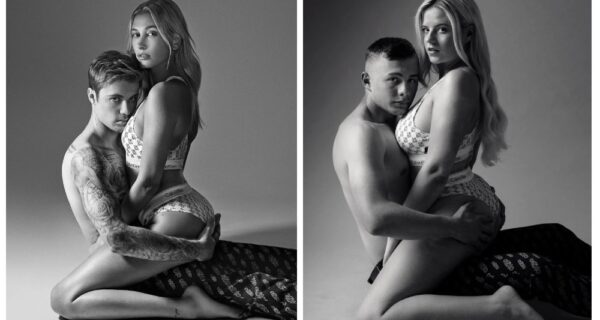 Чувства напоказ: три пары воссоздали интимные снимки Джастина и Хейли Биберов