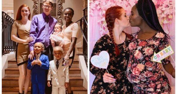 Три на три: полигамная семья воспитывает троих детей и готова к новым отношениям