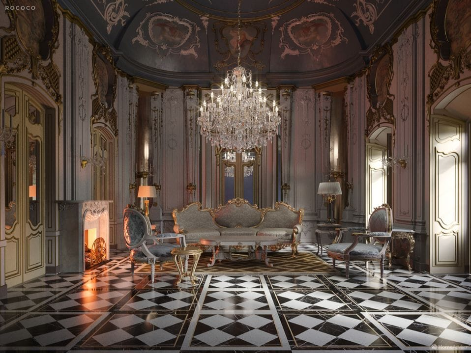 От ренессанса до постмодернизма: 500 лет дизайна интерьера гостиной
