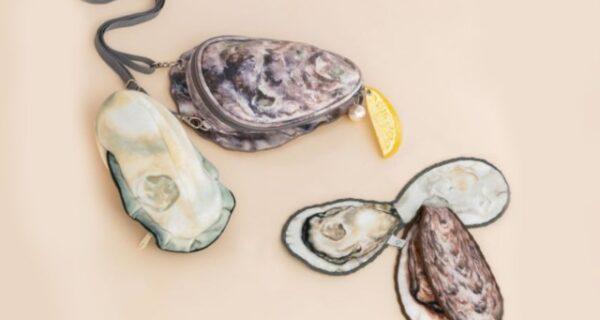 Деликатес на плече: японская фирма создала сумочку в виде устрицы