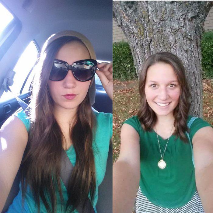 1500070684745 596942d7df71e  700 - 20 фото людей «до и после» того, как они обрезали свои длинные волосы