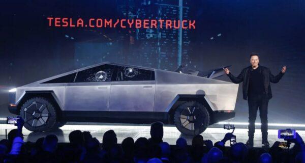Кирпич с колесами: Tesla представила электропикап Cybertruck, сеть ответила мемами
