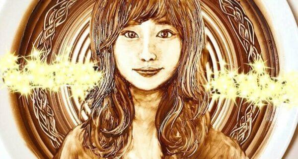 Японка делает шоколадные картины, и они прекрасны